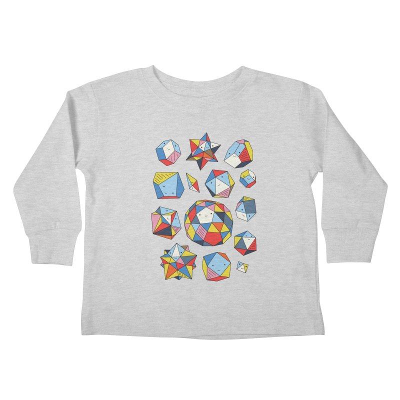 Power rocks by Elebea Kids Toddler Longsleeve T-Shirt by elebea