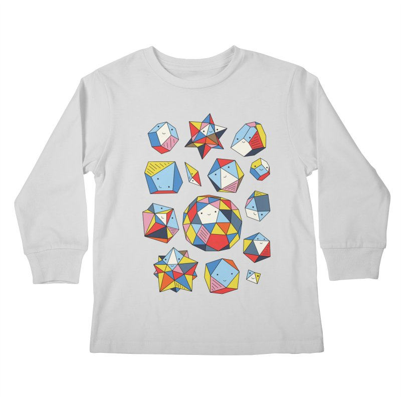 Power rocks by Elebea Kids Longsleeve T-Shirt by elebea