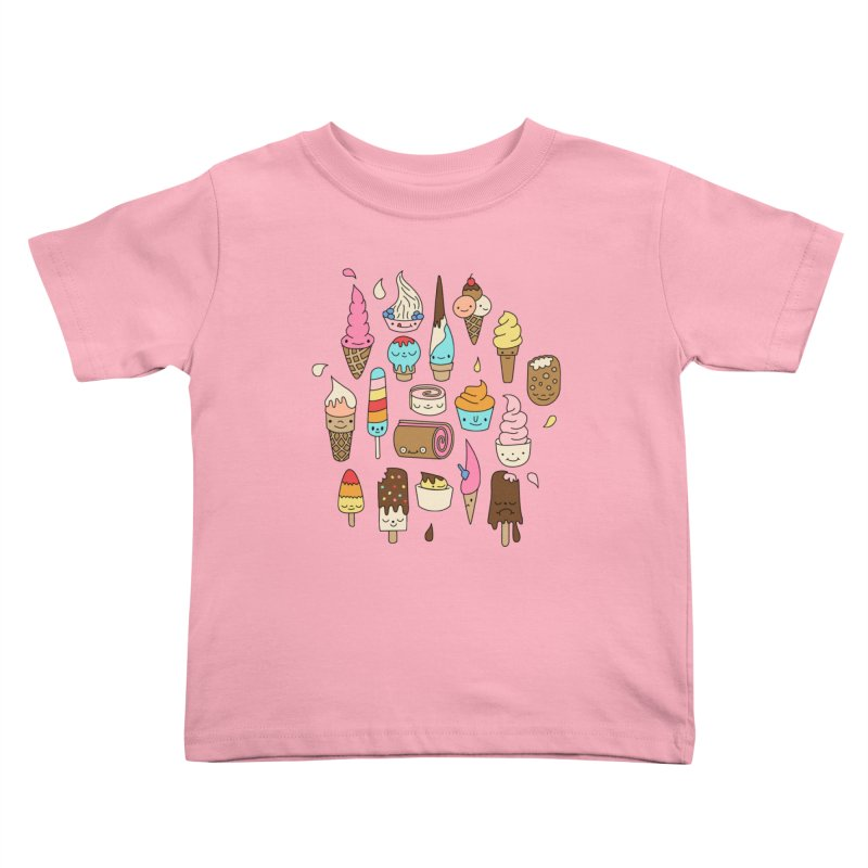 Ice cream by Elebea Kids Toddler T-Shirt by elebea