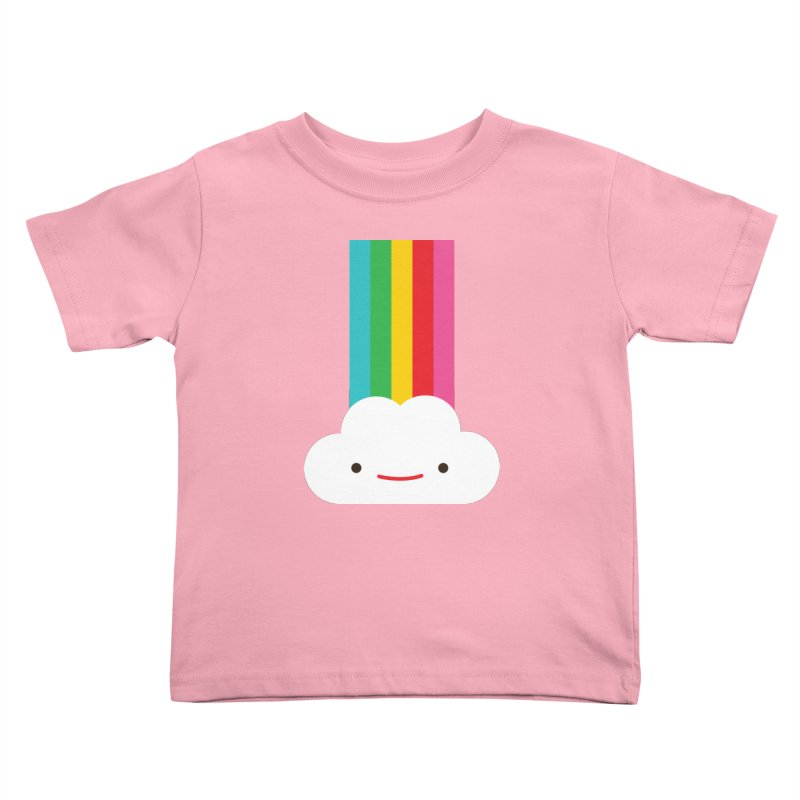 Cloud and rainbow by Elebea Kids Toddler T-Shirt by elebea