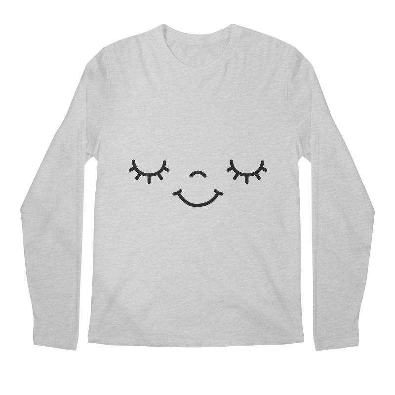 Happy face by Elebea Men's Longsleeve T-Shirt by elebea