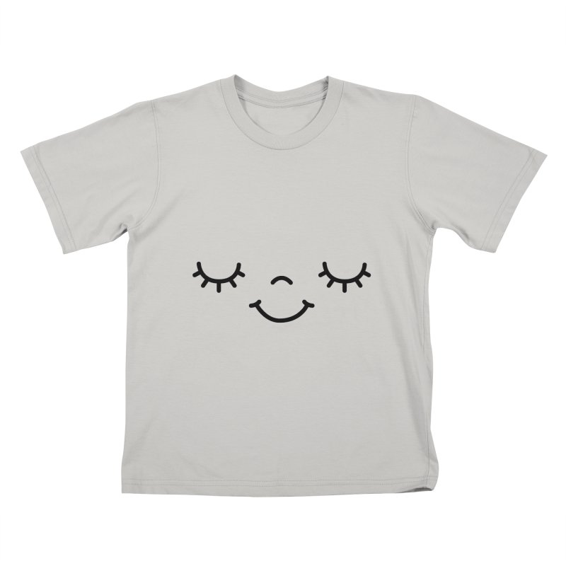 Happy face by Elebea Kids T-Shirt by elebea