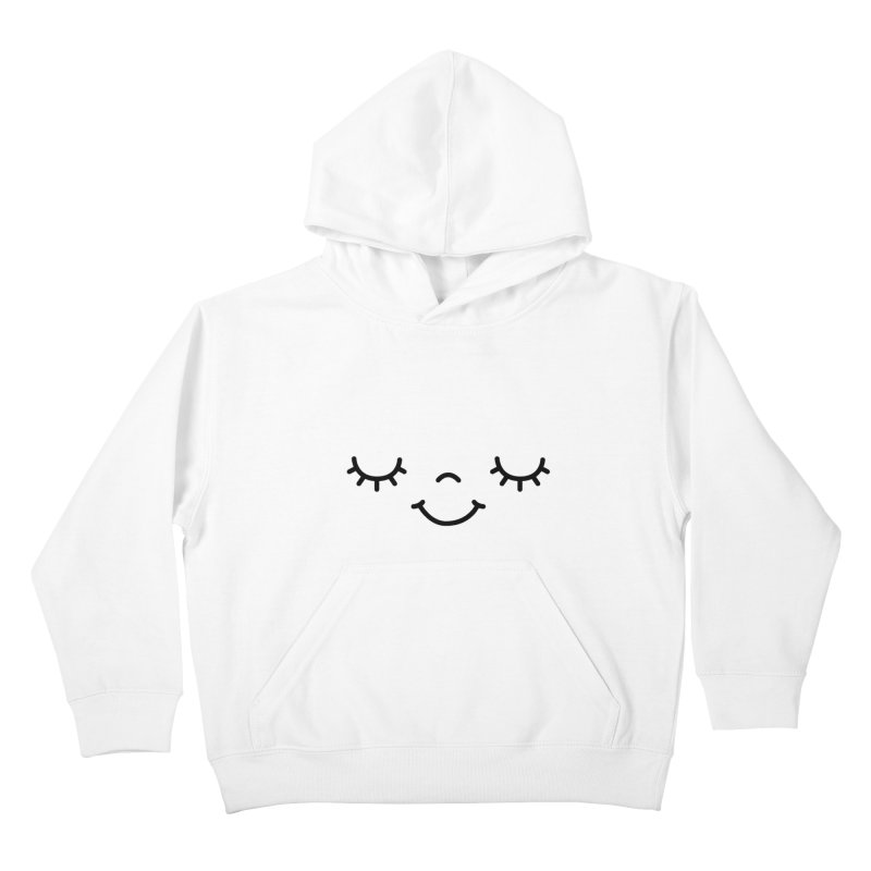 Happy face by Elebea Kids Pullover Hoody by elebea