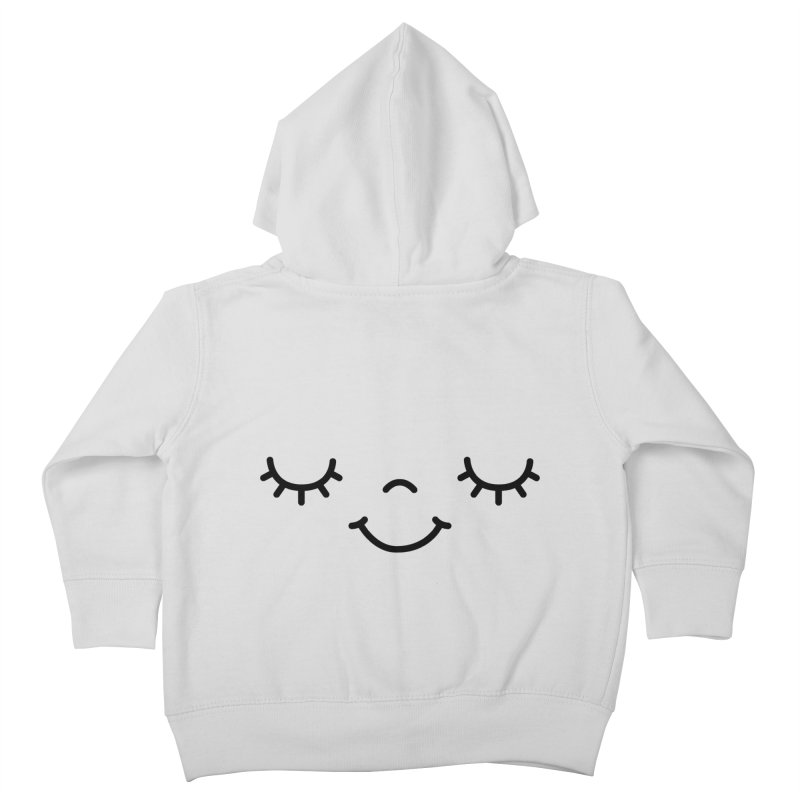 Happy face by Elebea Kids Toddler Zip-Up Hoody by elebea