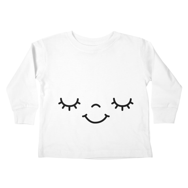 Happy face by Elebea Kids Toddler Longsleeve T-Shirt by elebea