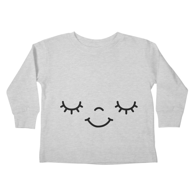 Happy face by Elebea Kids Toddler Longsleeve T-Shirt by elebea