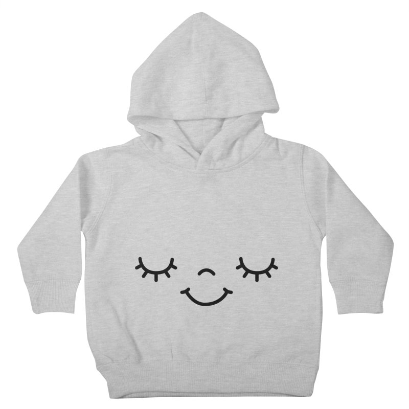 Happy face by Elebea Kids Toddler Pullover Hoody by elebea