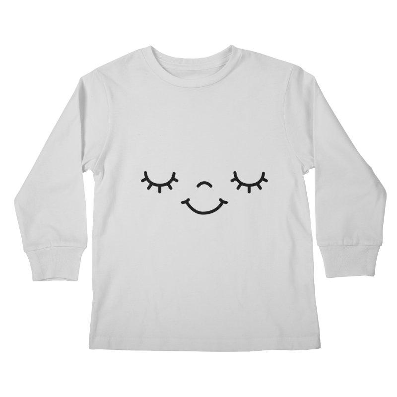 Happy face by Elebea Kids Longsleeve T-Shirt by elebea
