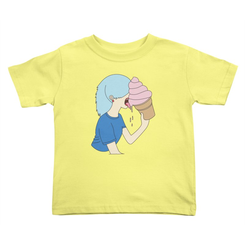 Ice cream dream by Elebea Kids Toddler T-Shirt by elebea