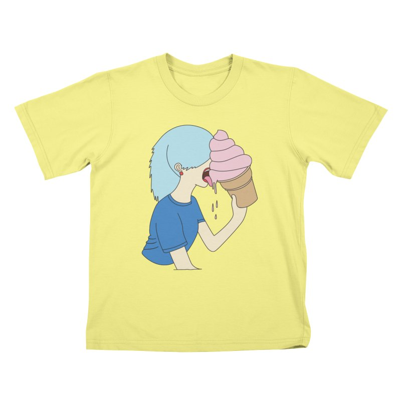 Ice cream dream by Elebea Kids T-shirt by elebea