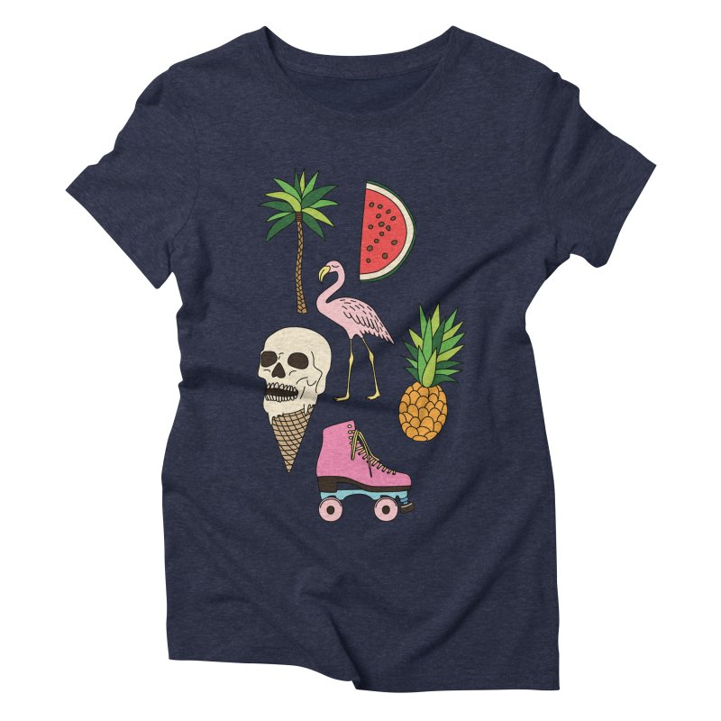 Summer by Elebea Women's Triblend T-shirt by elebea