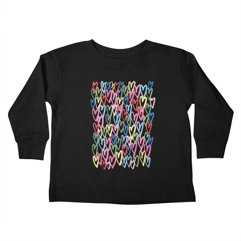 Rainbow love by Elebea Kids Toddler Longsleeve T-Shirt by elebea
