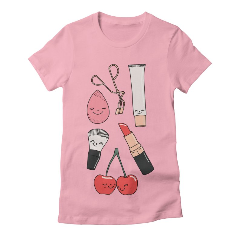 Make up paradise by Elebea Women's Fitted T-Shirt by elebea