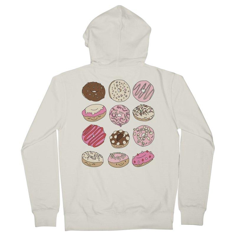 Donut paradise by Elebea Men's Zip-Up Hoody by elebea
