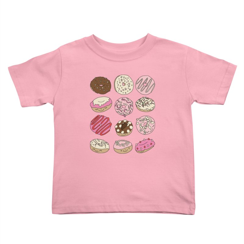 Donut paradise by Elebea Kids Toddler T-Shirt by elebea