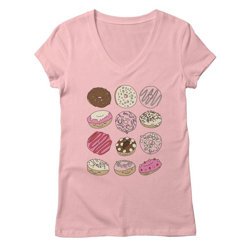 Donut paradise by Elebea Women's V-Neck by elebea