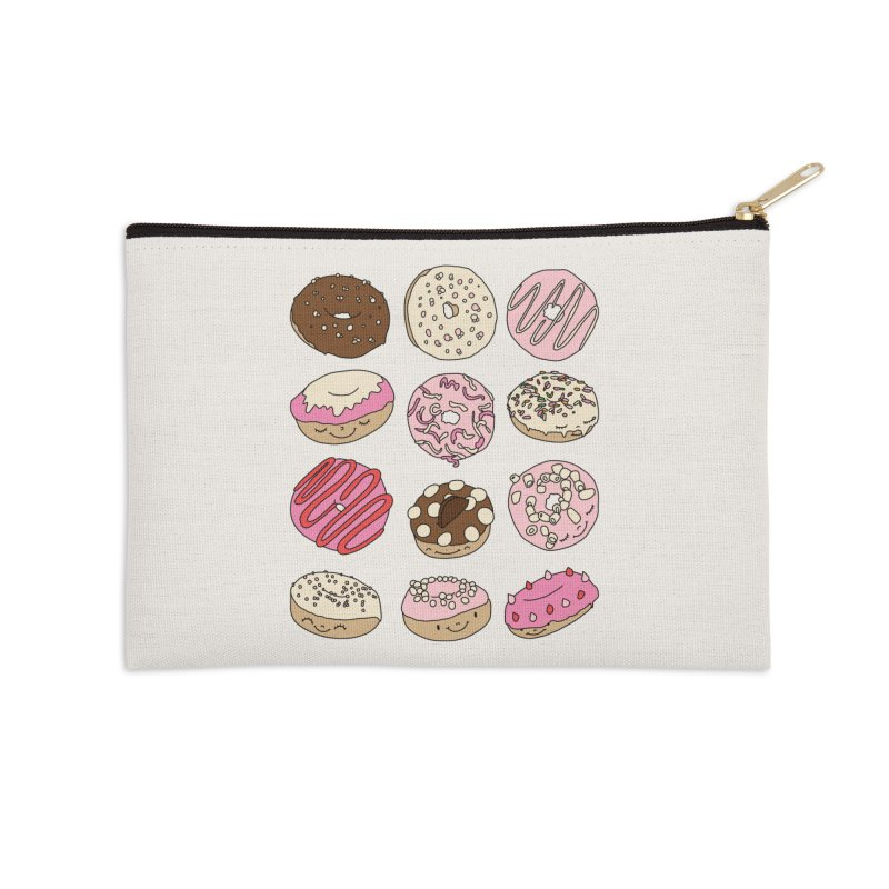 Donut paradise by Elebea Accessories Zip Pouch by elebea