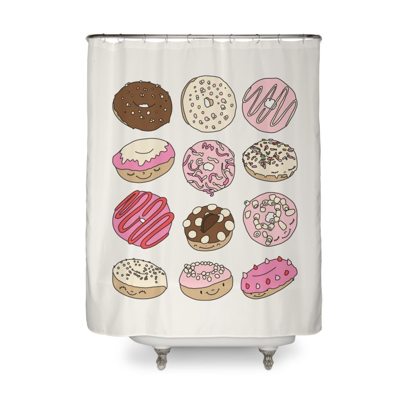 Donut paradise by Elebea Home Shower Curtain by elebea