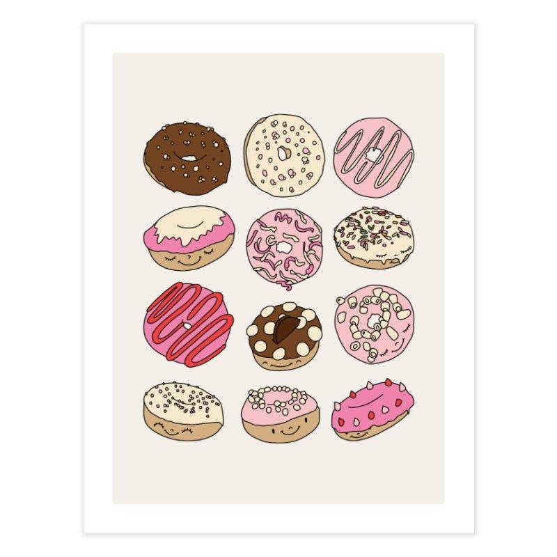 Donut paradise by Elebea Home Fine Art Print by elebea