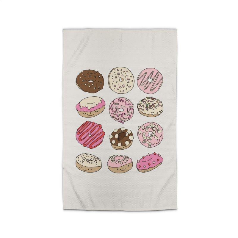 Donut paradise by Elebea Home Rug by elebea