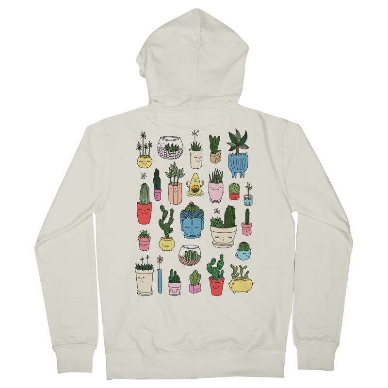 Cactus paradise by Elebea Men's Zip-Up Hoody by elebea