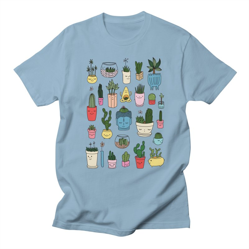 Cactus paradise by Elebea Men's T-shirt by elebea