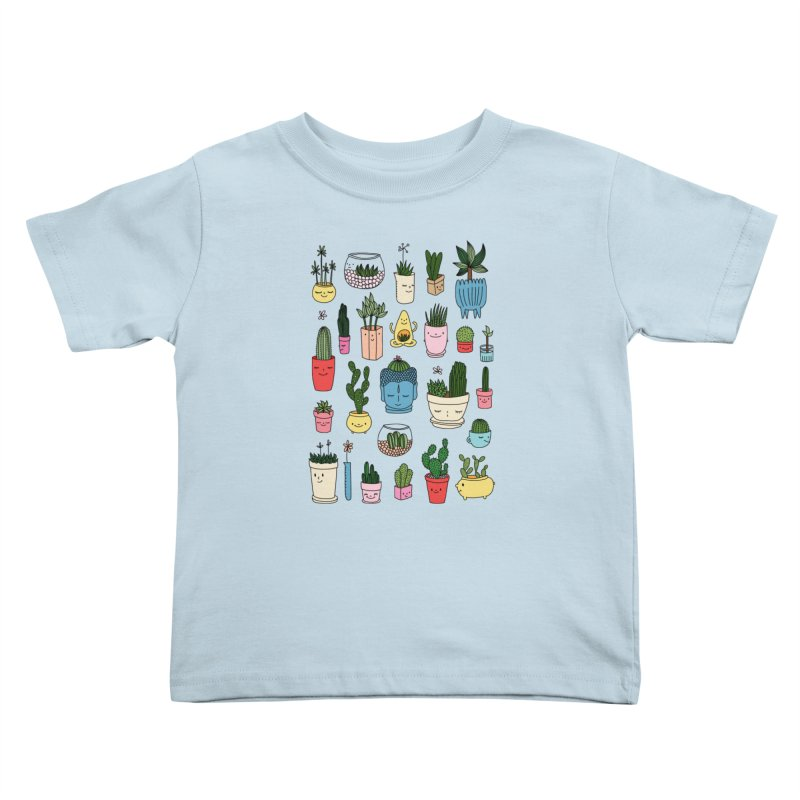 Cactus paradise by Elebea Kids Toddler T-Shirt by elebea