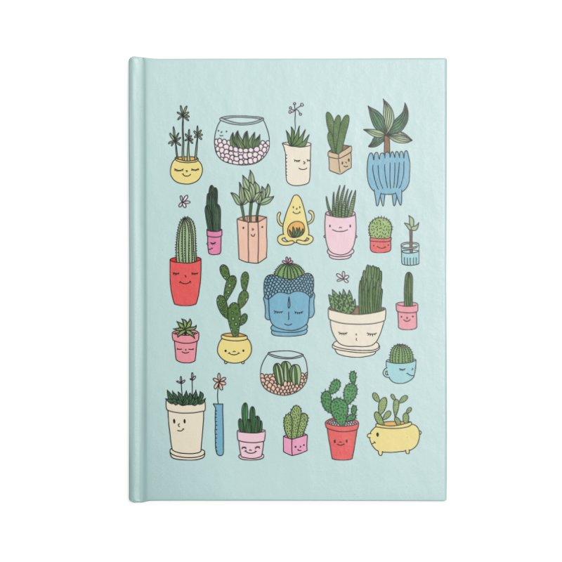 Cactus paradise by Elebea Accessories Notebook by elebea