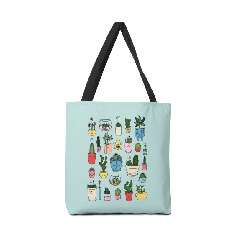 Cactus paradise by Elebea Accessories Bag by elebea