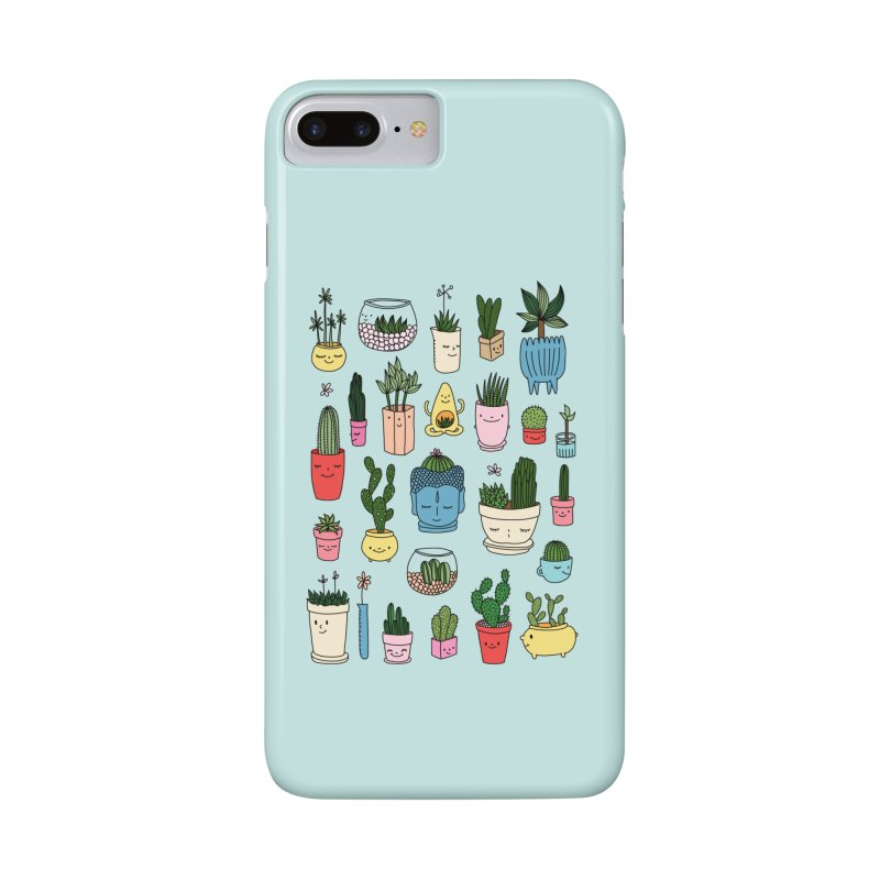 Cactus paradise by Elebea Accessories Phone Case by elebea