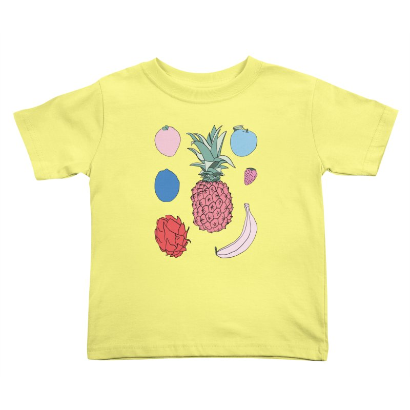 Fruit salad by Elebea Kids Toddler T-Shirt by elebea