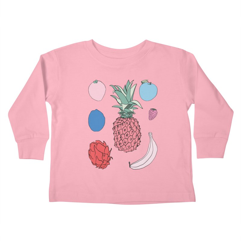 Fruit salad by Elebea Kids Toddler Longsleeve T-Shirt by elebea