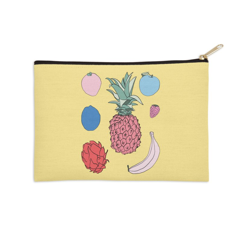 Fruit salad by Elebea Accessories Zip Pouch by elebea