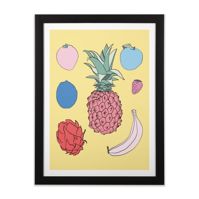 Fruit salad by Elebea Home Framed Fine Art Print by elebea