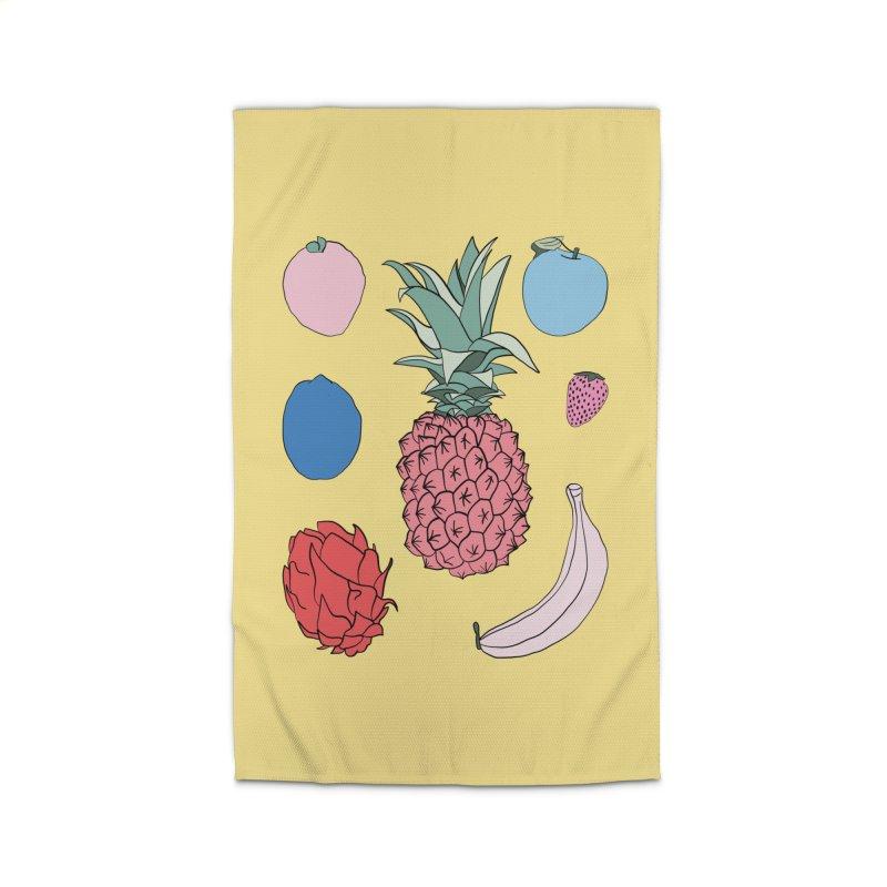 Fruit salad by Elebea Home Rug by elebea