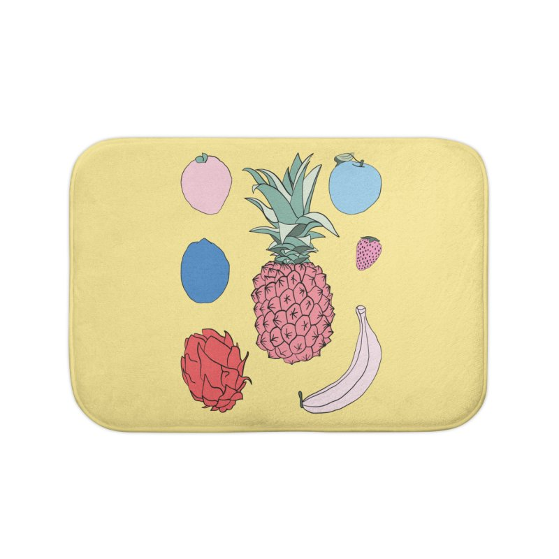 Fruit salad by Elebea Home Bath Mat by elebea