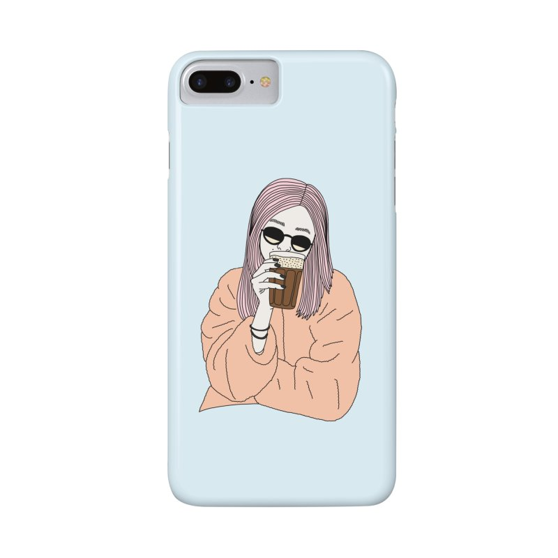 Cold coffee by Elebea Accessories Phone Case by elebea