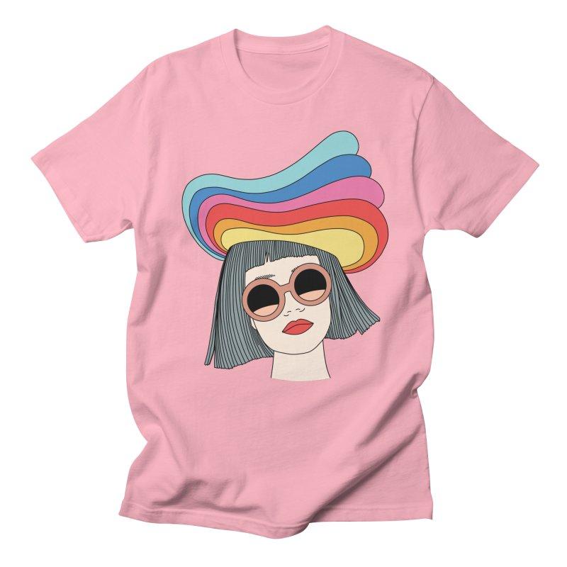 Rainbow hat by Elebea Women's Unisex T-Shirt by elebea