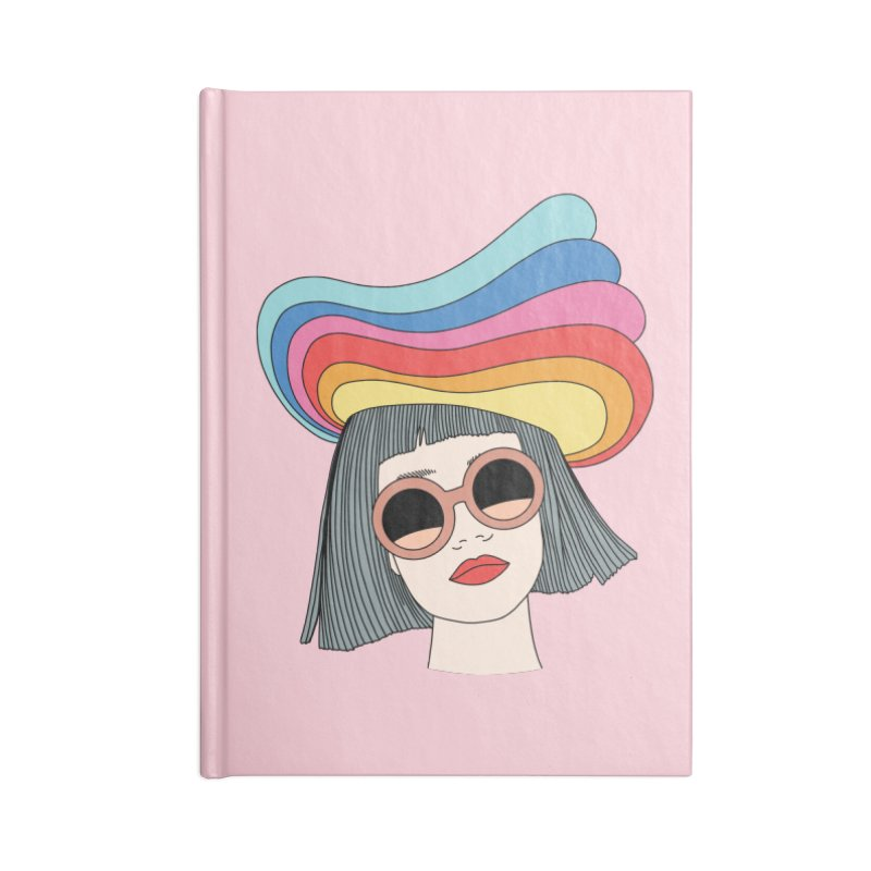 Rainbow hat by Elebea Accessories Notebook by elebea