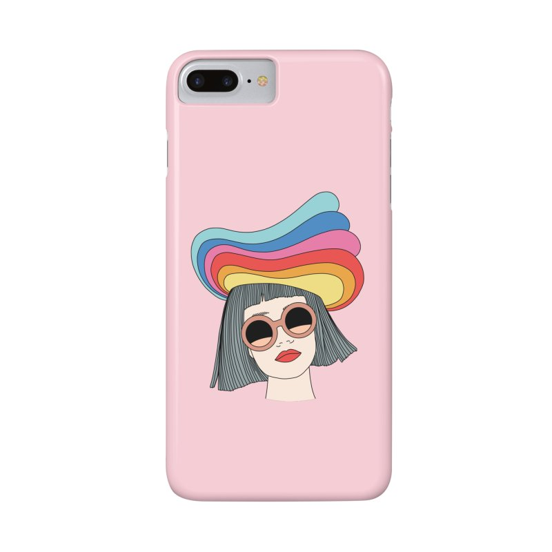 Rainbow hat by Elebea Accessories Phone Case by elebea
