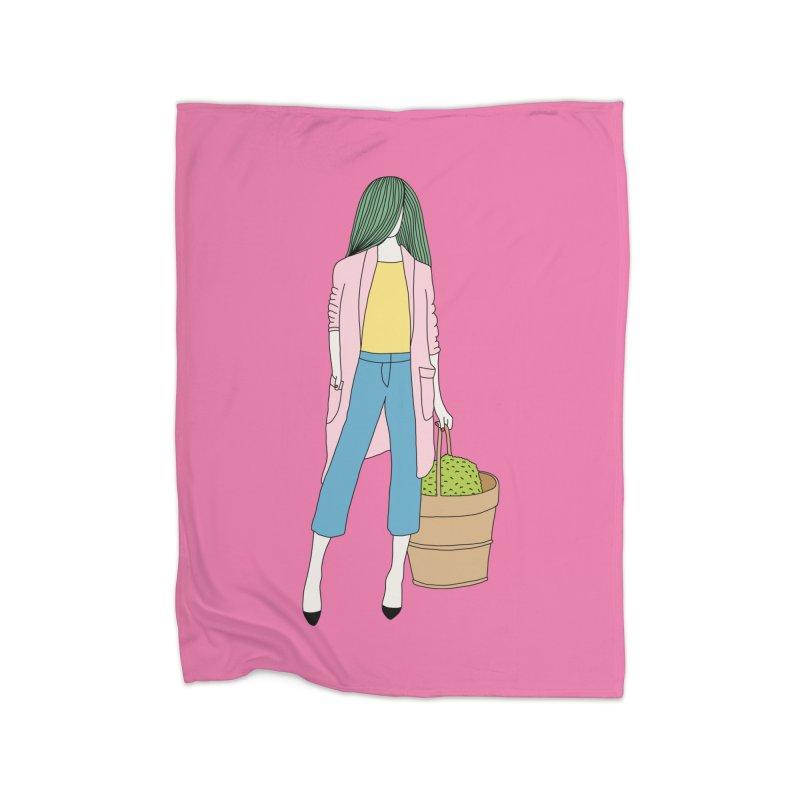 Basket by Elebea Home Blanket by elebea