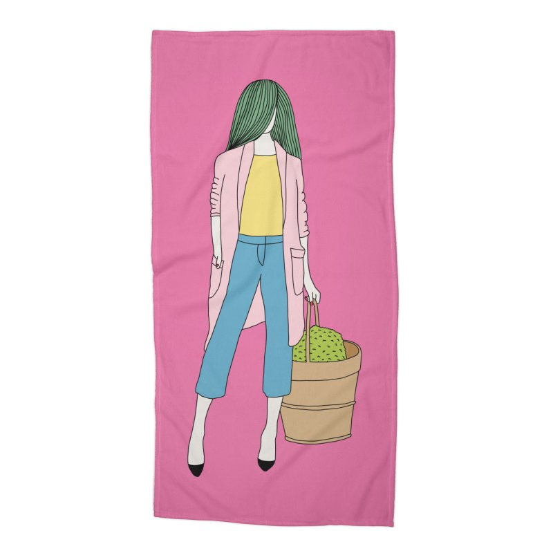 Basket by Elebea Accessories Beach Towel by elebea
