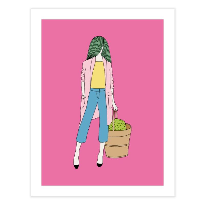Basket by Elebea Home Fine Art Print by elebea