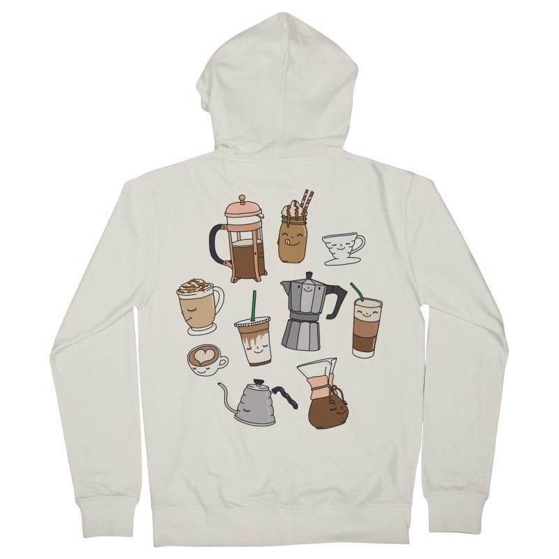 Coffee paradise by Elebea Women's Zip-Up Hoody by elebea