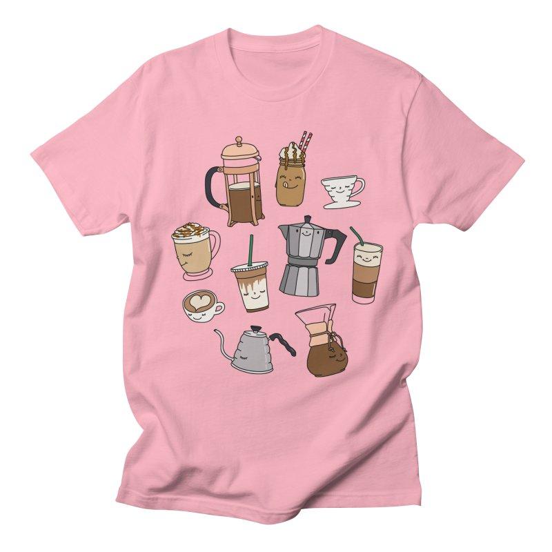 Coffee paradise by Elebea Men's T-shirt by elebea