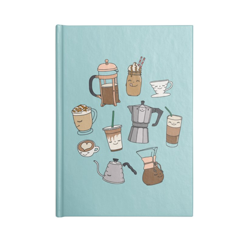 Coffee paradise by Elebea Accessories Notebook by elebea