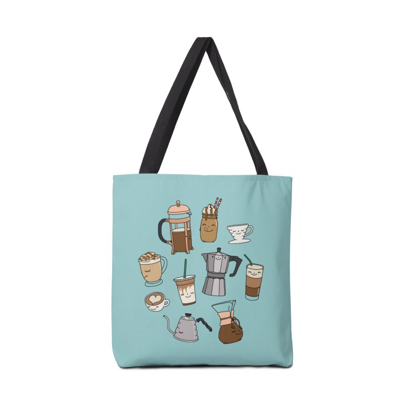 Coffee paradise by Elebea Accessories Bag by elebea
