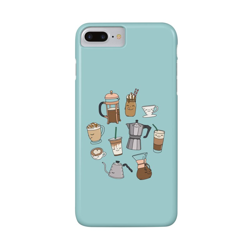 Coffee paradise by Elebea Accessories Phone Case by elebea