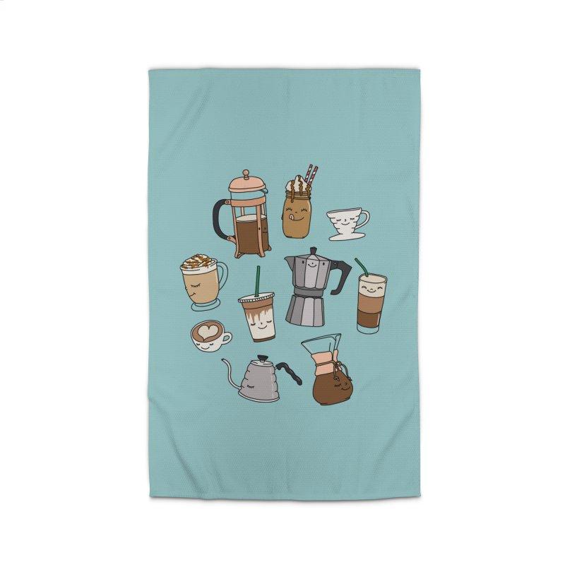 Coffee paradise by Elebea Home Rug by elebea