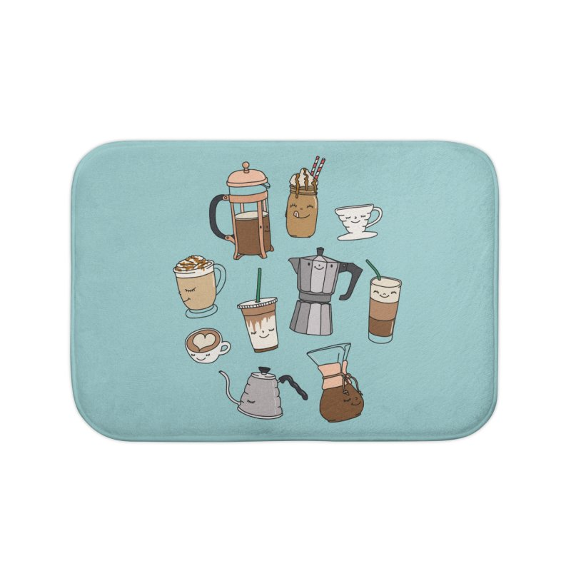 Coffee paradise by Elebea Home Bath Mat by elebea